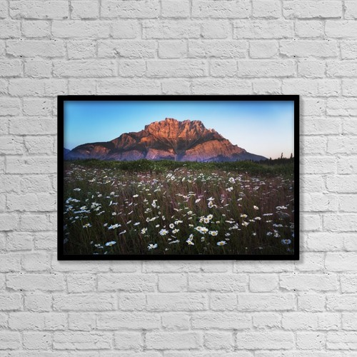 """Printscapes Wall Art: 18"""" x 12"""" Canvas Print With Black Frame - Scenic by Justin Sinclair"""