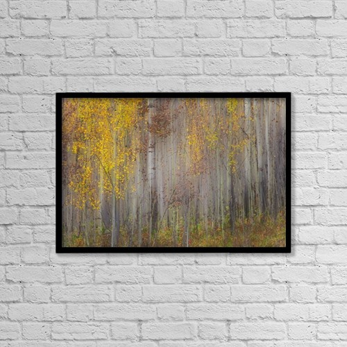 """Printscapes Wall Art: 18"""" x 12"""" Canvas Print With Black Frame - Artwork and Paintings by Ron Harris"""