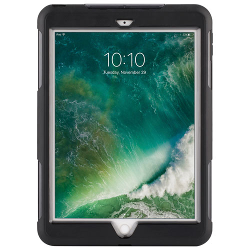 """Griffin Survivor Extreme Rugged Case for iPad 9.7"""" 2017/2018 - Black/Clear"""