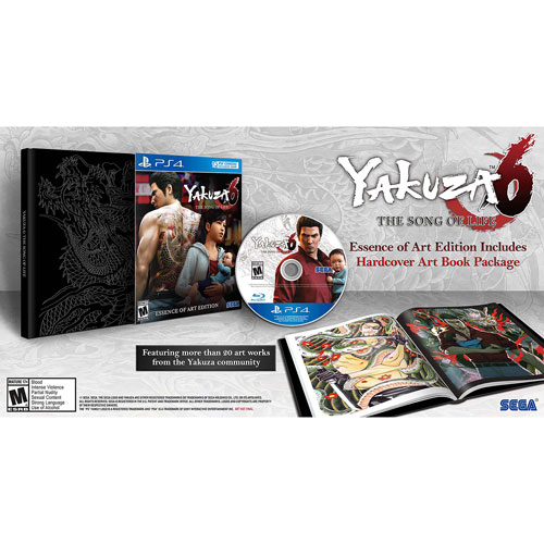 Yakuza 6 The Song of Life Essence of Art Edition (PS4) - English