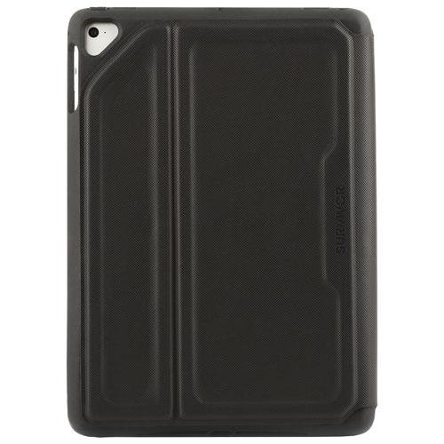 Étui folio Survivor Rugged Griffin pour iPad Air 1/2, iPad 9,7 po 2017/2018 et iPad Pro 9,7 po-Noir