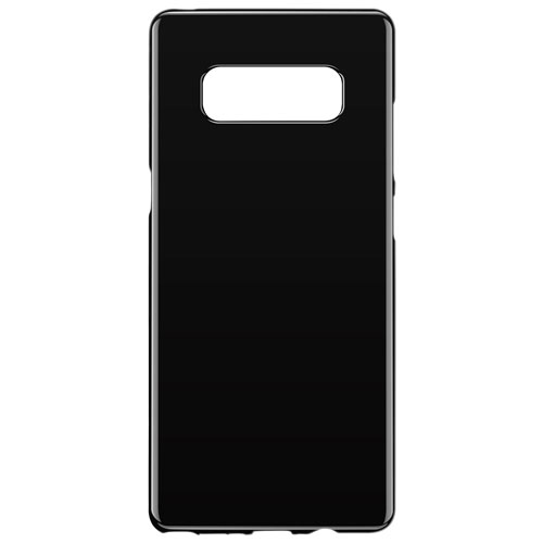 Blu Element Gel Skin Fitted Soft Shell Case for Galaxy Note8 - Black