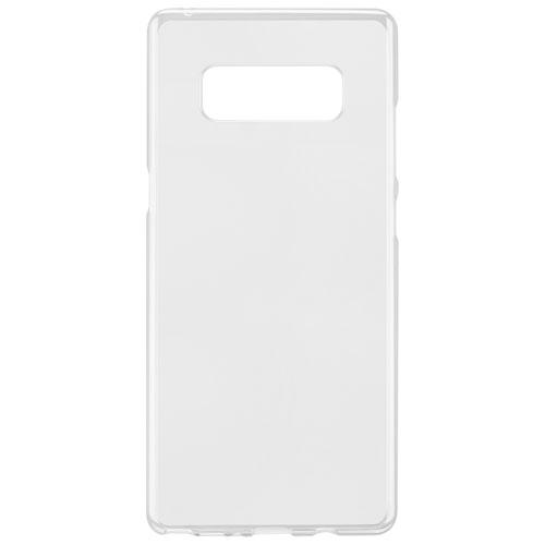 Étui souple ajusté en gel de Blu Element pour Galaxy Note8 - Transparent