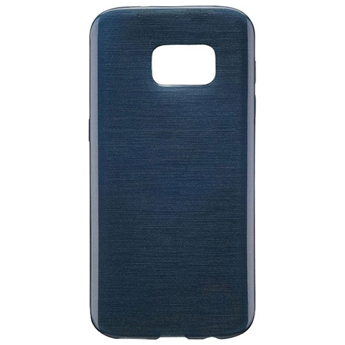 Blu Element Brushed Gel Skin Fitted Soft Shell Case for Galaxy Note8 - Navy Blue