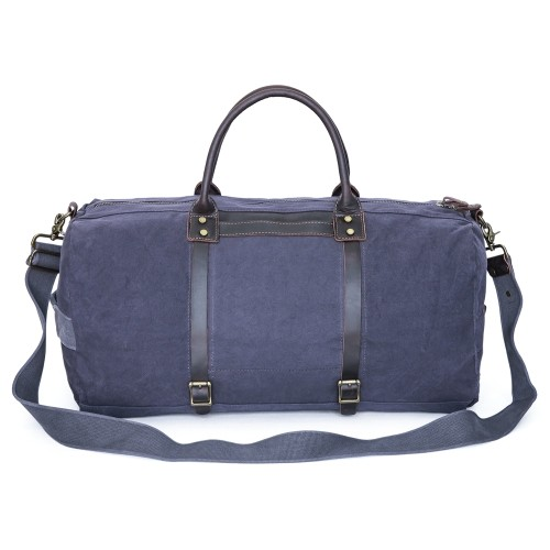 bfa22d4dac Gootium Oversized Vintage Canvas Duffle Bag Carry-on Tote Bag Gym Sports Weekend  Bag