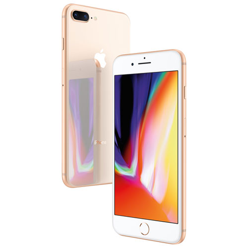buy popular a27f8 598e3 Bell Apple iPhone 8 Plus 64GB - Gold - 2 Year Agreement | Best Buy ...