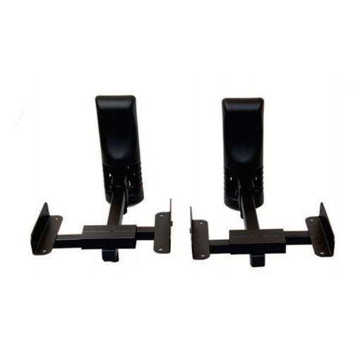 AMX Swivel Bookshelf Speaker Mounts For Home Theater Black Sold As A Pair Stands