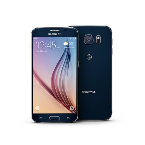 samsung galaxy s6 32gb gsm unlocked smartphone in sapphire black refurbished unlocked samsung. Black Bedroom Furniture Sets. Home Design Ideas
