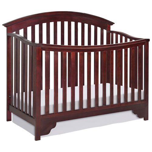 Delta Children Sonoma 4 In 1 Convertible Crib Black Cherry