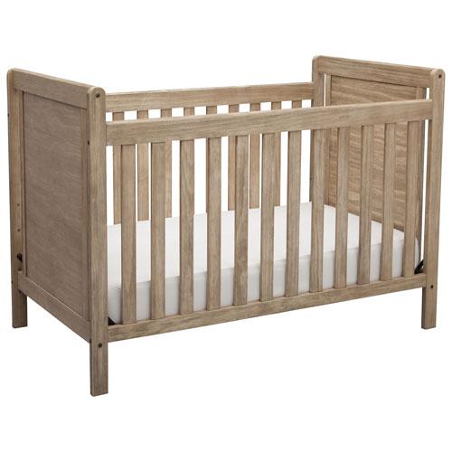 Delta Children Chloe 4 In 1 Convertible Crib   Rustic Whitewash : Baby  Cribs   Best Buy Canada