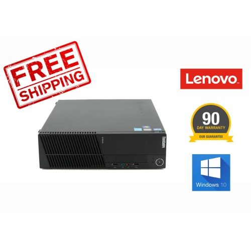 HP 6000Pro SFF Intel Core2Duo 3.0, 4G, 160G, DVDRW, Windows 10 Home, Keyboard and Mouse, Refurbished, 90 Days Warranty