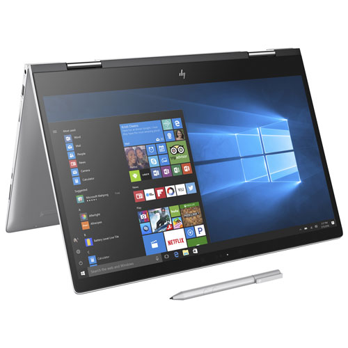 Portable 2-en-1 de 15,6 po ENVY x360 de HP - Arg (Core i5-8250U d'Intel/SSD 256 Go/RAM 8 Go/Win 10)