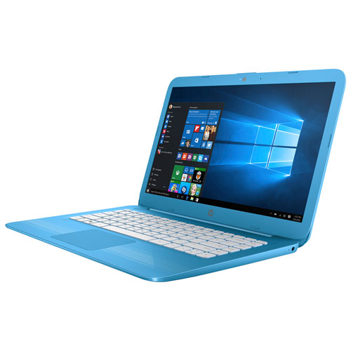 "HP Stream 14"" Laptop - Blue (Intel Celeron N3060/32GB SSD/4GB RAM/Windows 10)"
