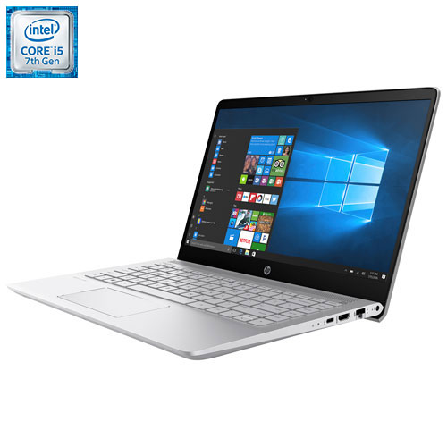 Portable de 14 po Pavilion de HP - Argenté (Core i5-7200U d'Intel/SSD 256Go/RAM 8 Go/Windows 10)