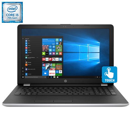 "HP 15.6"" Touchscreen Laptop - Silver (Intel Core i5-7200U/ 1TB HDD/ 8GB RAM/ Windows 10)"