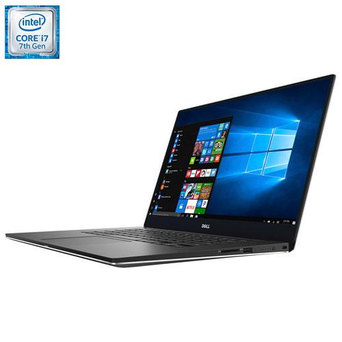 "Dell XPS 15 15.6"" Laptop - Silver (Intel Core i7-7700HQ / 256GB SSD / 8GB RAM / Windows 10)"