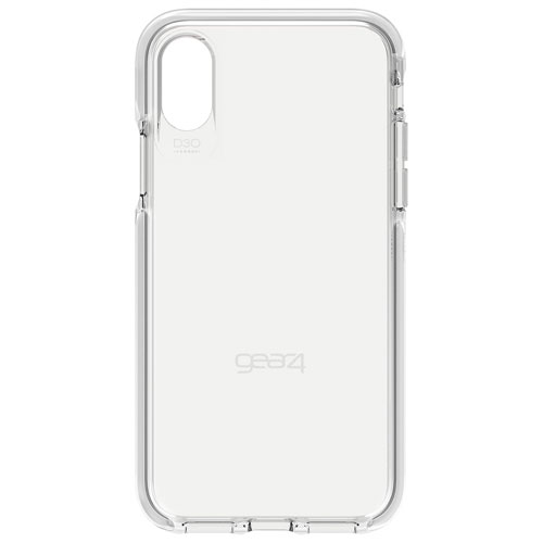 new styles 02f8f c52af Gear4 Piccadilly Fitted Hard Shell Case for iPhone X - White