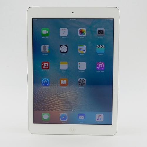 "Apple Ipad Air One, 32GB, WIFI + 3G, 9.7"", White/Silver, Refurbished, Free Ship"