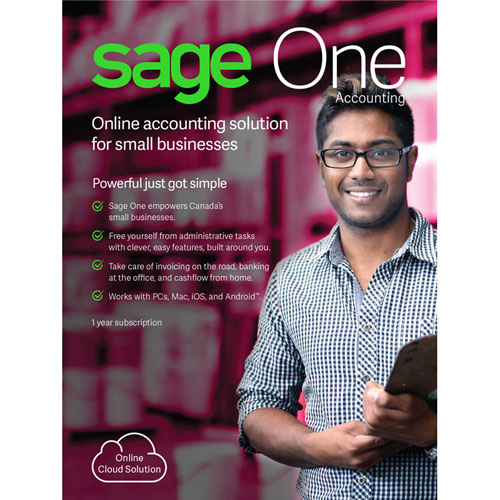 Sage One Accounting (PC/Mac) - 1 Year