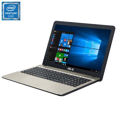 Portable 15,6 po VivoBook d'ASUS - Noir - Doré (Pentium N4200 d'Intel/DD 500 Go/RAM 4 Go/Windows 10)
