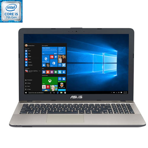 "ASUS Vivobook 15.6"" Laptop - Black/Gold (Intel Core i5-7200U / 1TB HDD / 8GB RAM / Windows 10)"