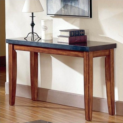 steve silver company montibello granite top sofa table console rh bestbuy ca