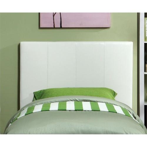 Furniture Of America Ramone Twin Panel Headboard In White