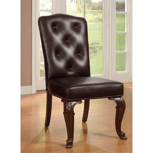 furniture of america ramsaran upholstered dining chair set 2 chairs best buy canada furniture chair set36 furniture