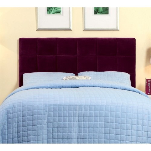 Furniture Of America Hellan Full Queen Upholstered Headboard In