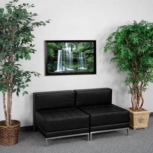 Flash Furniture Hercules Imagination Lounge Set in Black