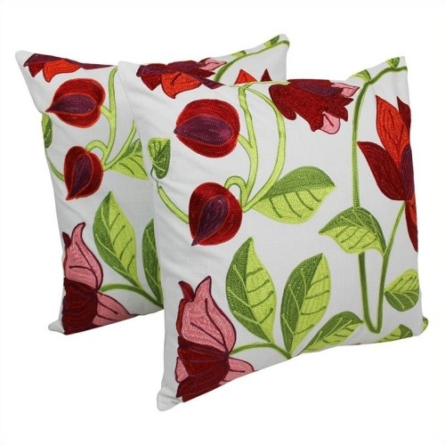 Blazing Needles 20 inch Elegant Throw Pillow in in Multicolor (Set of 2)   Decorative  Pillows - Best Buy Canada f6c0924f6a54