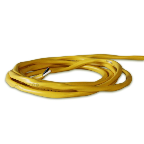 ThruSound Yellow 12AWG 2-Conductor FT4 In-Wall Speaker Wire (100 feet)