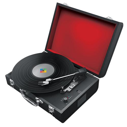 Polaroid PBT4001 Bluetooth Turntable