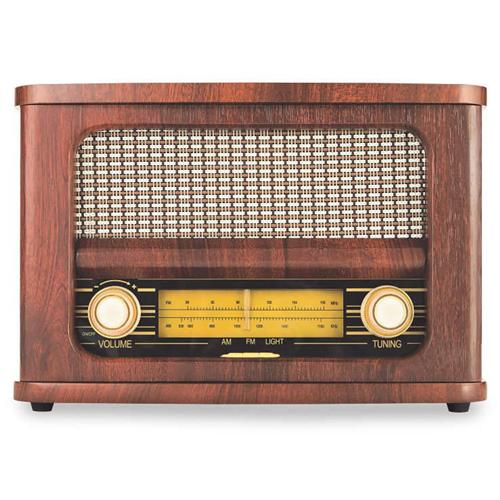 Art & Sound Haut-parleur Rétro avec Bluetooth & Radio FM
