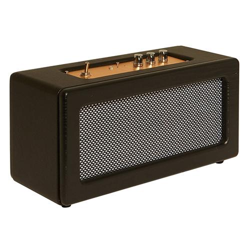Haut-parleur rétro sans fil SBT3002 Bluetooth de Sharper Image