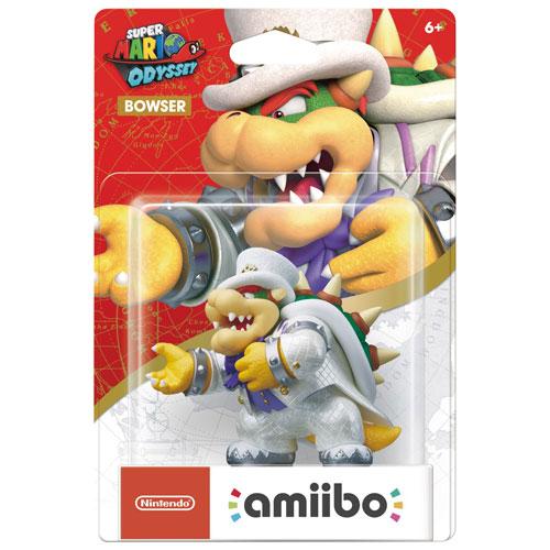 Bowser en tenue de mariage Super Mario Odyssey d'amiibo