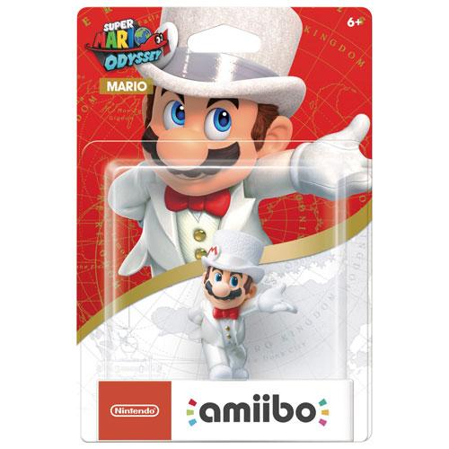 amiibo Super Mario Odyssey Mario Wedding Outfit