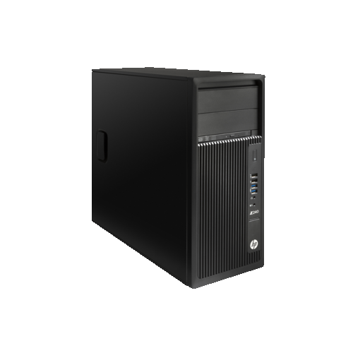 HP Z240 PC (Intel Xeon E3-1245v5 / 256 GB SSD / 8 RAM / Intel HD Graphics P530 / Windows 7) - (T4N74UT#ABA)