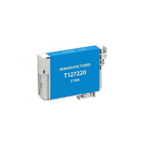 Remanufactured Cyan Ink Cartridge for Epson T127220 (EPC27220)