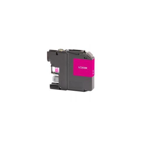 Remanufactured High Yield Magenta Ink Cartridge for Brother LC203 (DPCLC203MCA)