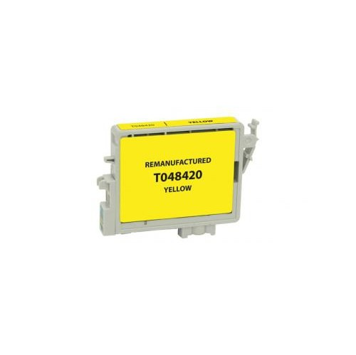 Remanufactured Yellow Ink Cartridge for Epson T048420 (EPC48420)