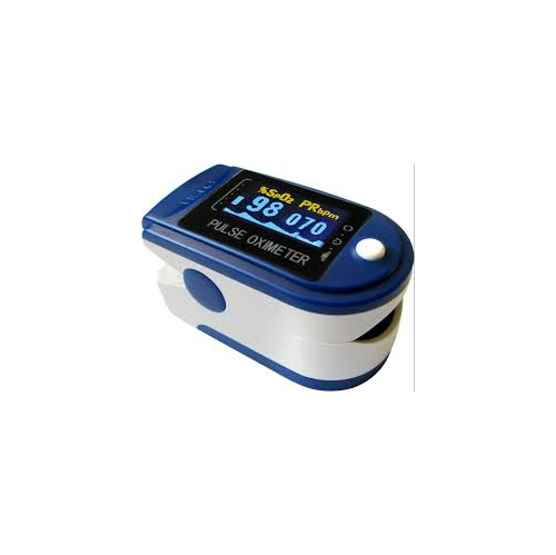Pulse Oximeter- Finger tip with OLED rotating