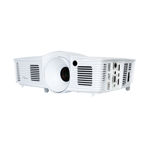 Optoma HD28DSE 1080p 3200 Lumens 3D DLP Home Entertainment Projector (Manufacturer Refurbished)