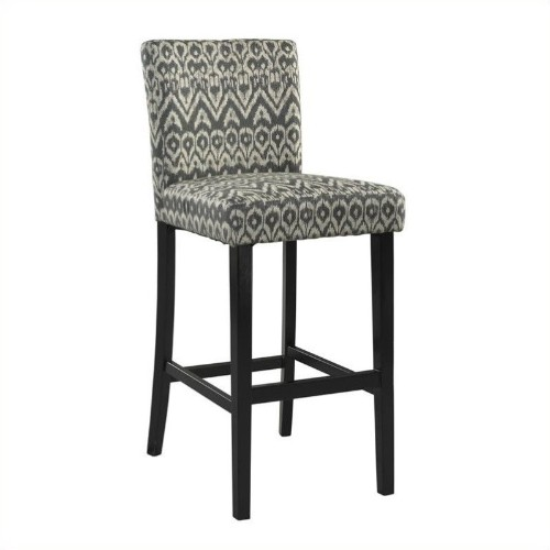Linon Morocco 24 Counter Stool In Black Bar Stools Best Buy Canada
