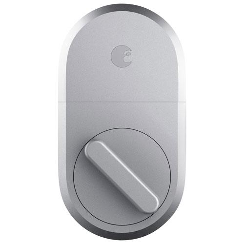 August Bluetooth Smart Lock - Silver