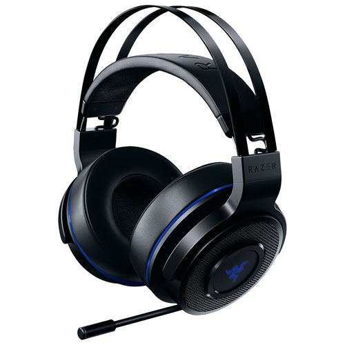 Razer Thresher Ultimate Over-Ear Sound Isolating Wireless Console Gaming Headset for PS4 - Black
