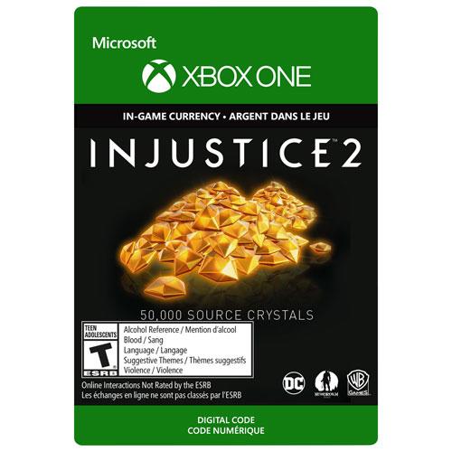 Injustice 2: 50,000 Source Crystals - Digital Download