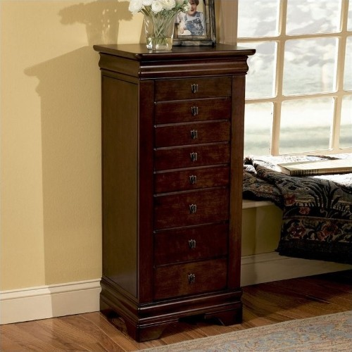 Powell Furniture Louis Philippe Marquis Cherry Jewelry