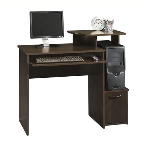 sauder computer desk 408726 cherry desks workstations best buy canada. Black Bedroom Furniture Sets. Home Design Ideas