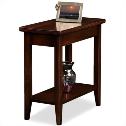 rectangle end table. Leick Furniture Laurent Solid Wood Rectangular End Table In Chocolate Cherry : More Living Room Tables - Best Buy Canada Rectangle A
